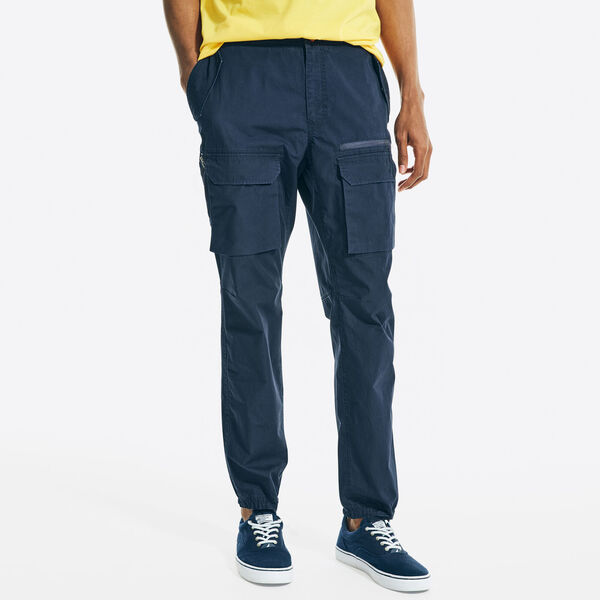 CLASSIC FIT WINDHARBOR PANT - Navy