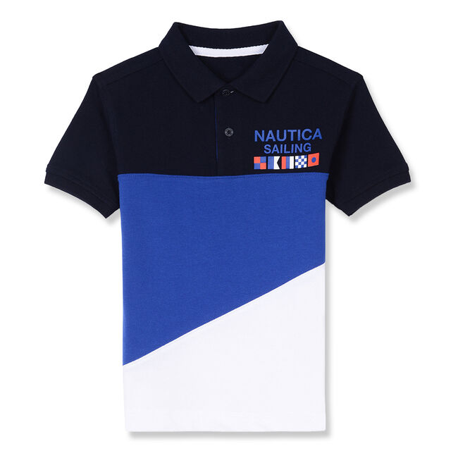 Little Boys' Auckley Heritage Polo (4-7),Sport Navy,large