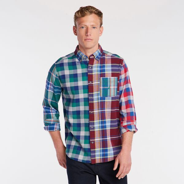 PLAID FLANNEL SHIRT - Zinfandel