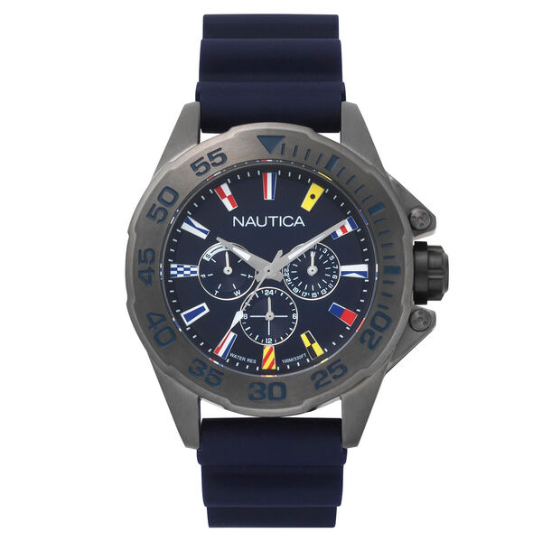 Miami Multifunction Watch - Navy - Pure Dark Pacific Wash