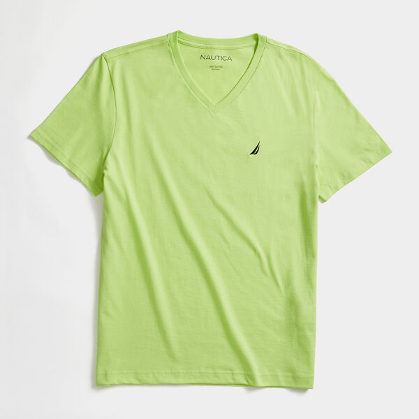 PREMIUM COTTON SOLID T-SHIRT - Nantucket Green