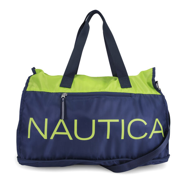 New Tack Packable Weekender Duffel Bag - Navy