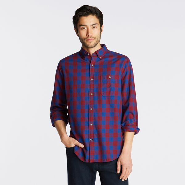 PLAID SHIRT - Zinfandel