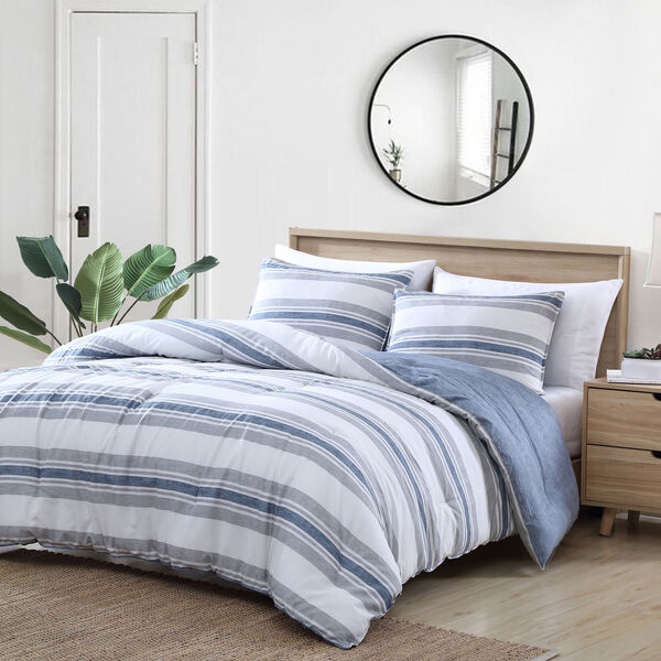 STRIPED COMFORTER-SHAM SET - Multi