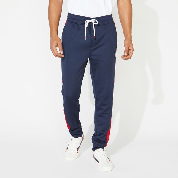 COLORBLOCK SIDE PANEL JOGGER - Navy