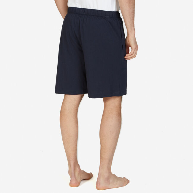 Cotton Jersey Sleep Short,True Navy,large