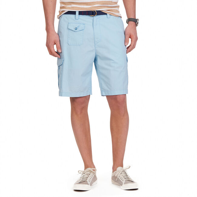 "Ripstop Cargo Shorts - 9"" Inseam,Cool Breeze,large"