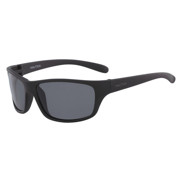 Oversized Sunglasses with Matte Frame - Black Onyx