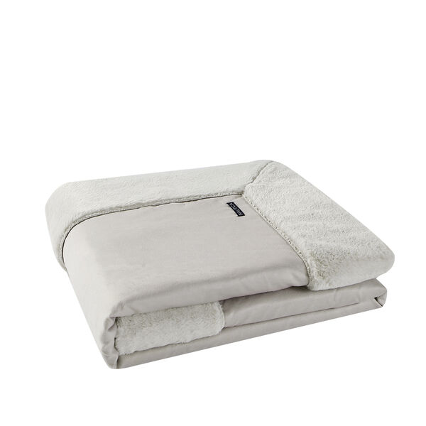 REVERSIBLE FAUX FUR THROW BLANKET - Multi