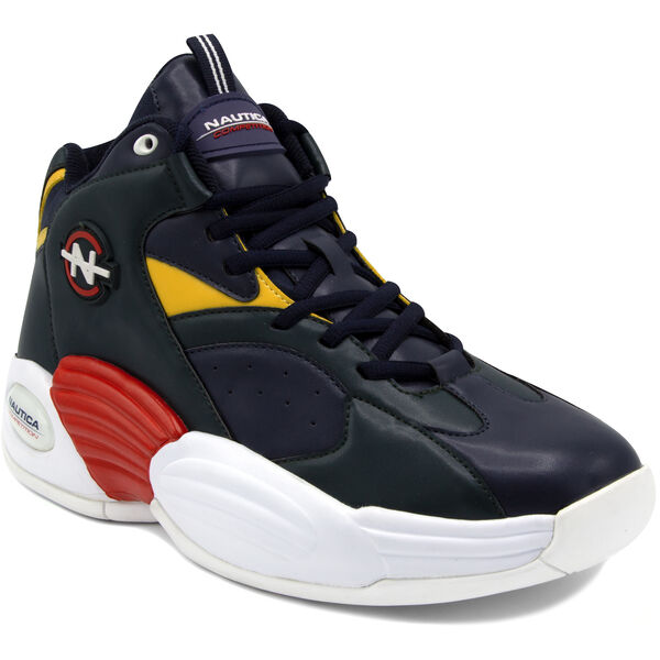 NAUTICA COMPETITION REBELL HIGH TOP IN NAVY - Pure Dark Pacific Wash