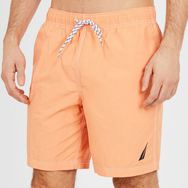 "8"" Performance Swim Short - Orange"