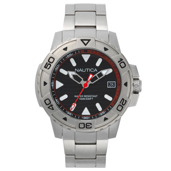 Edgewater Stainless Steel Watch - Black