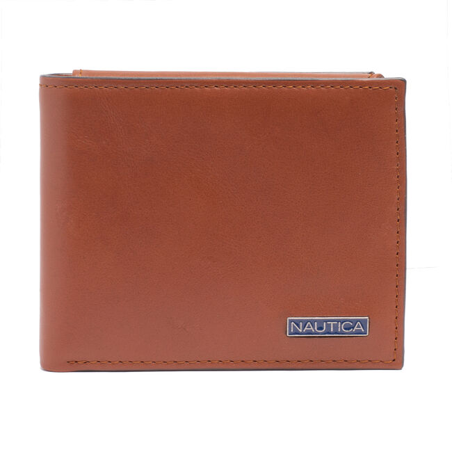 SMOOTH LEATHER PASSCASE,Military Tan,large