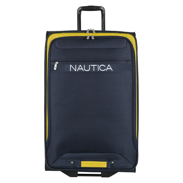 """Hayes Point 28"""" Expandable Luggage in Navy/Yellow - Pure Dark Pacific Wash"""