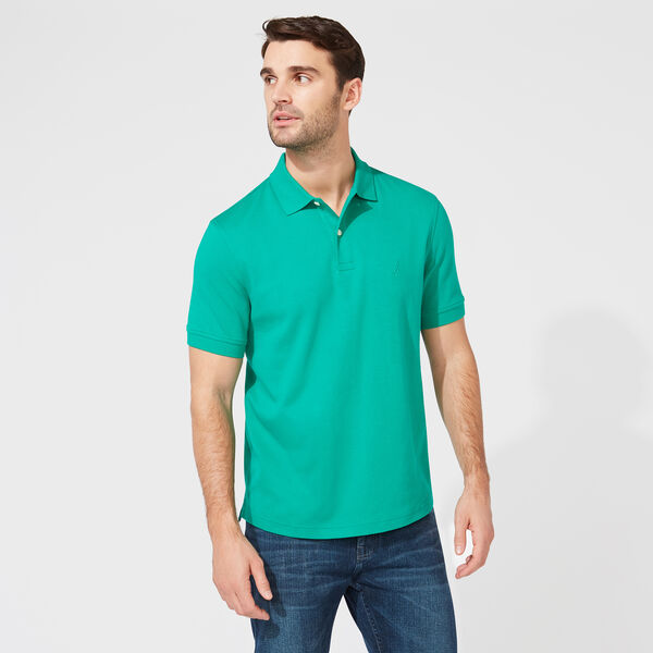 CLASSIC FIT PREMIUM COTTON POLO - Dark Dill