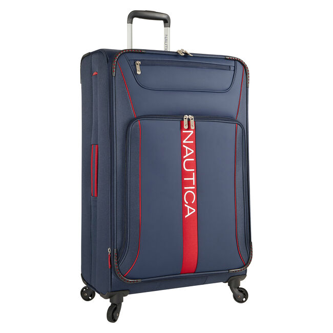 Bounty Expandable Spinner Luggage,Navy,large