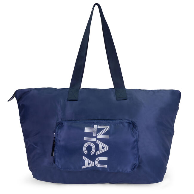 NEW TACK PACKABLE TOTE BAG,Navy,large