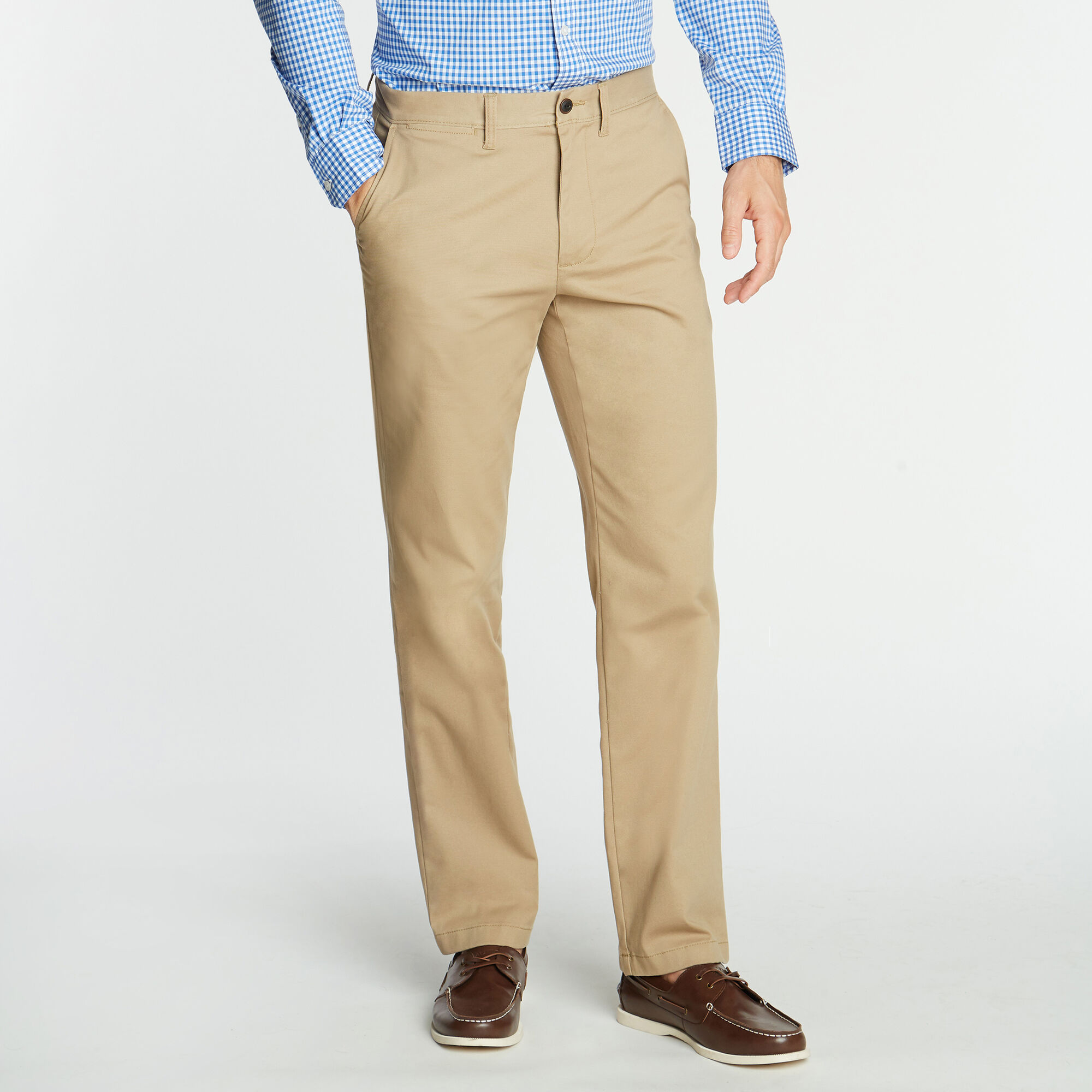 Nautica Mens Classic-Fit Wrinkle-Resistant Deck Pants