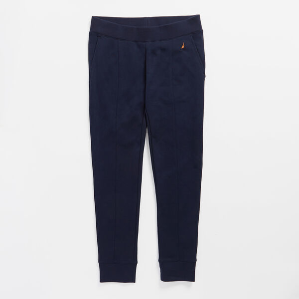 SEAMED JOGGER - Stellar Blue Heather