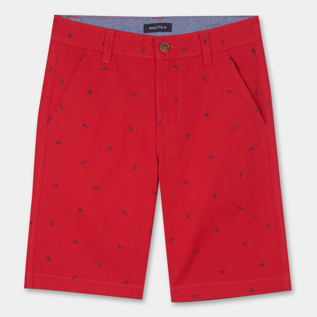 TODDLER BOYS' TATE NAUTICAL PRINTED SHORTS (2T-4T),Melonberry,large