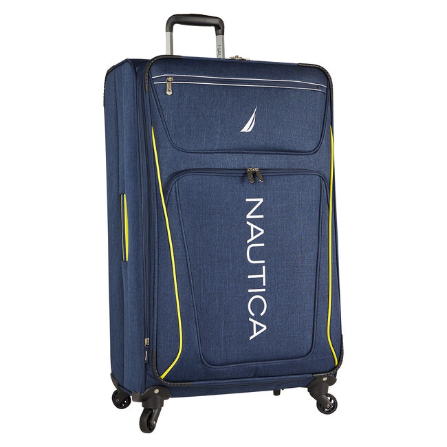 "Expeditor 21"" Expandable Spinner Luggage,Navy,large"