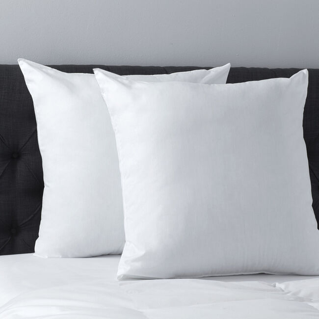Euro Down-Like Pillow,Bright White,large