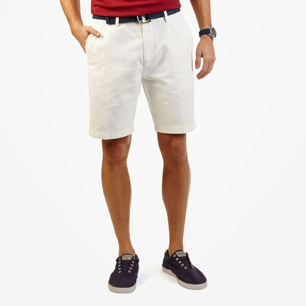 Flat Front Short - Bright White