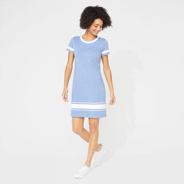 STRIPE KNIT DRESS - Aquabreeze