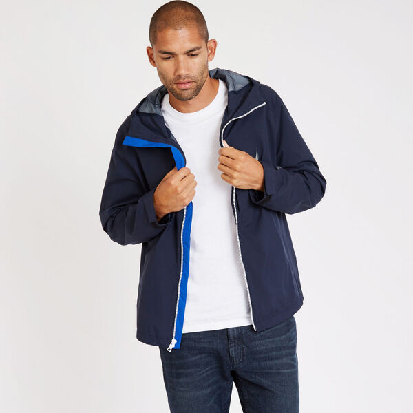 Discovery Rainbreaker Jacket - Navy