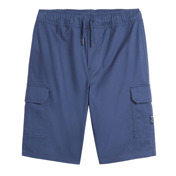 BOYS' PULL-ON CARGO SHORT (8-20) - South Beach Aqua