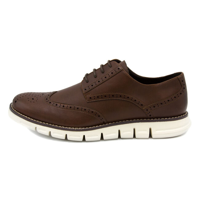 Wingdeck Oxfords - Brown,Brown,large