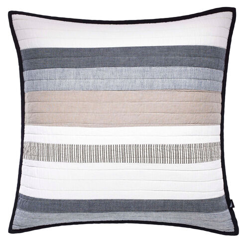 Tideway Quilted Throw Pillow - Multi
