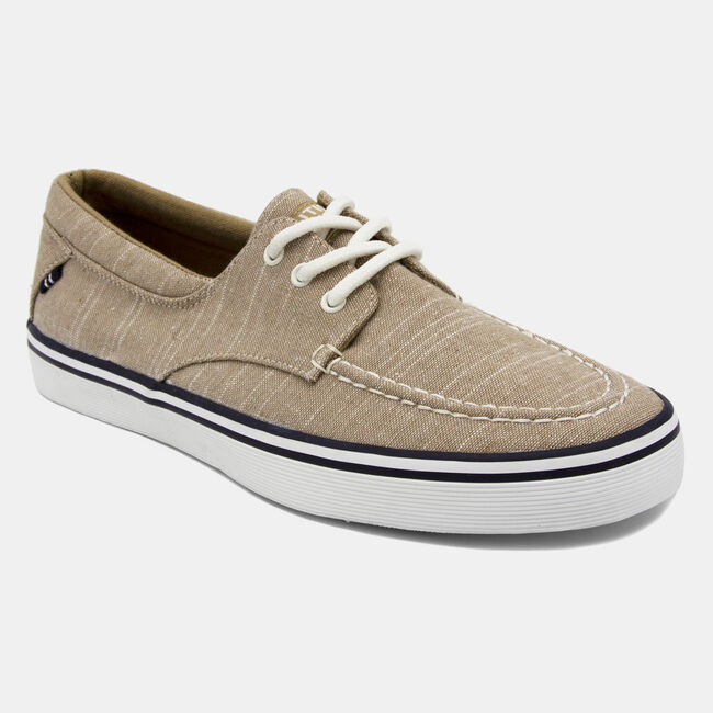 Ablemarle Canvas Sneaker in Beige ,Beige Heather,large