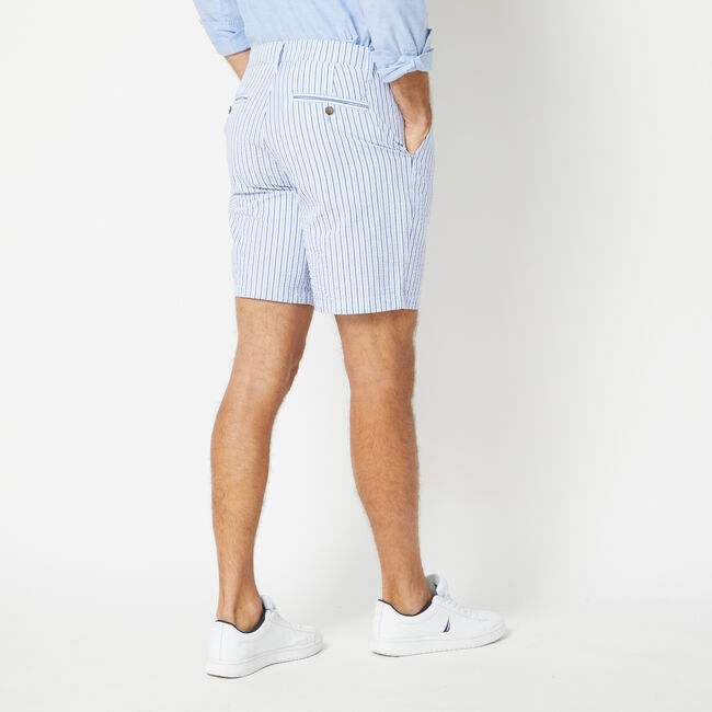 CLASSIC FIT SEERSUCKER SHORTS,Sea Mist,large