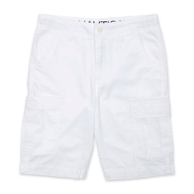Toddler Boys' Cargo Shorts (2T-4T),Antique White Wash,large