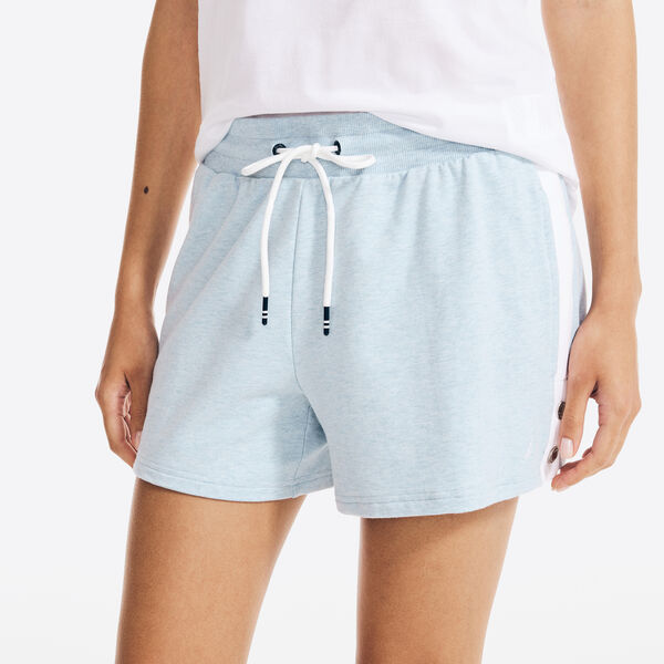 """4"""" SUSTAINABLY CRAFTED SIDE-STRIPE SHORT - Angel Blue"""