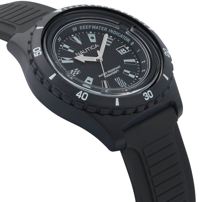Ibiza IBZ17 Sport Watch - Black,True Black,large