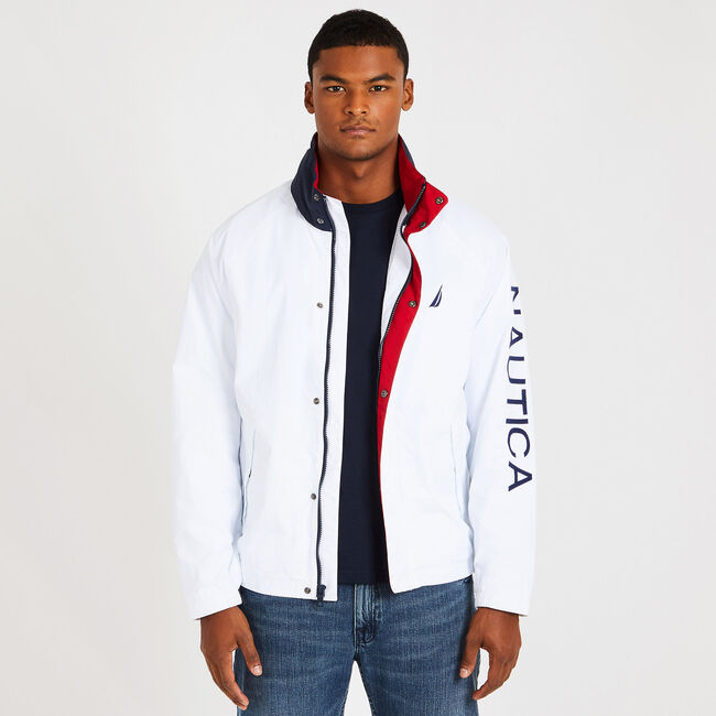 Lightweight J-Class Jacket,Bright White,large
