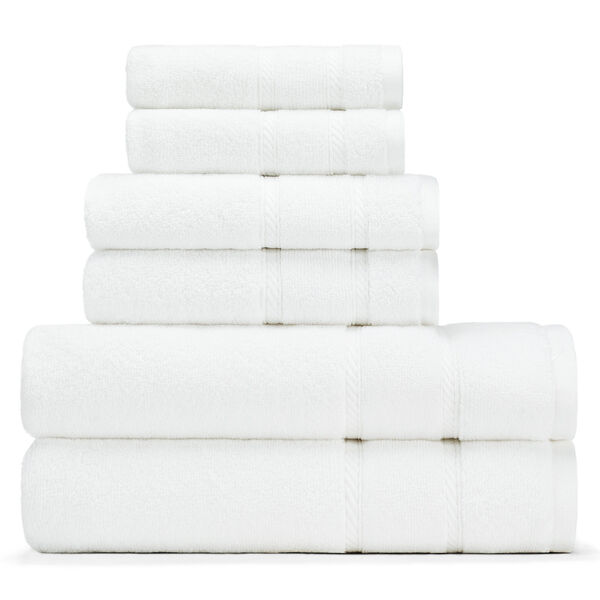 Belle Haven Towel Set - Bright White
