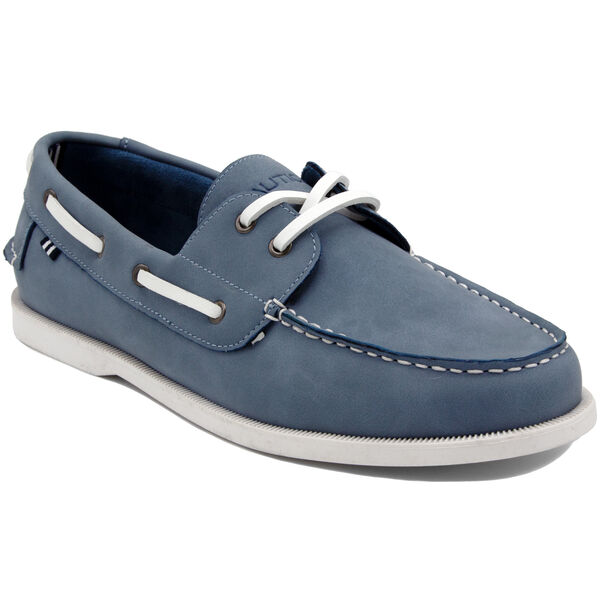 Nueltin 2 Boat Shoe in Light Blue - Prism Light Blue Wash