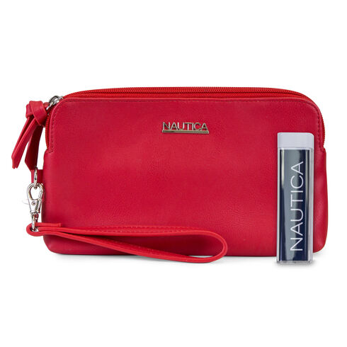 Sailing Wristlet With Battery Charger