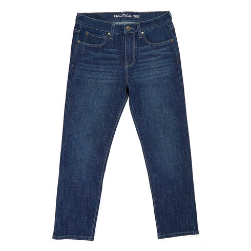 Little Boys' Straight Leg Jeans (4-7) - Bayberry Blue