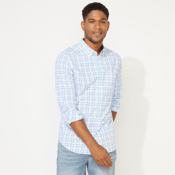 CLASSIC FIT PLAID SHIRT - Bali Bliss