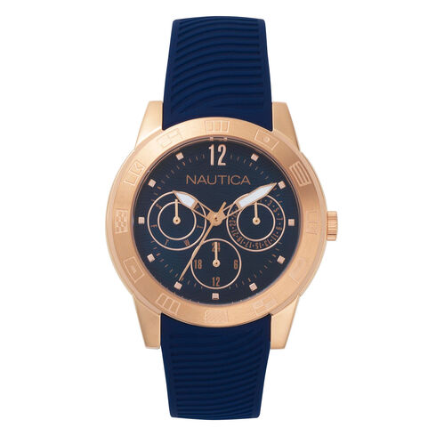 Long Beach Water Resistant Watch - Navy