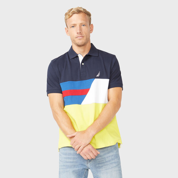 CLASSIC FIT POLO - Navy