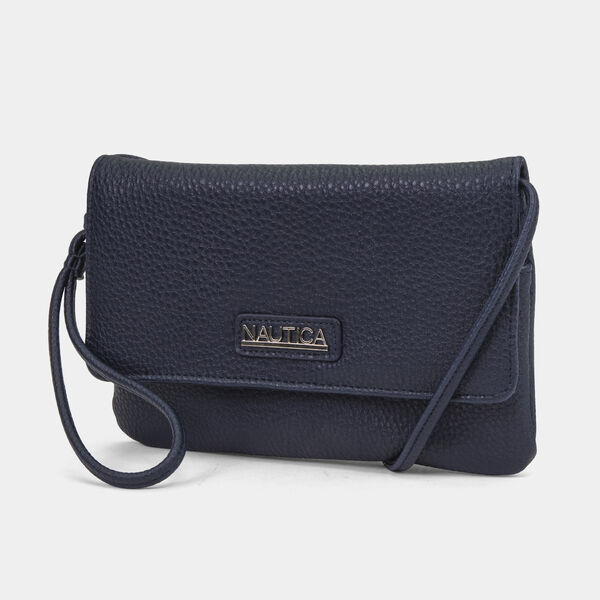 SEA TROOPER WRISTLET WITH DETACHABLE STRAP - Navy