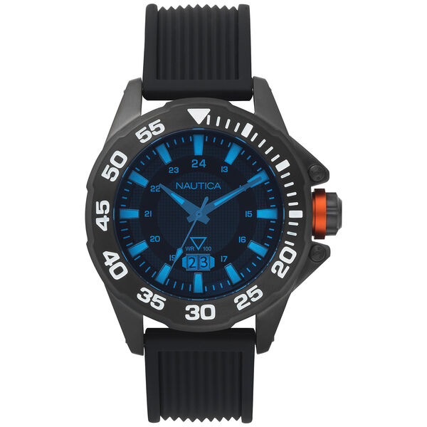 Westview Silicone 3-Hand Watch - Black - Multi