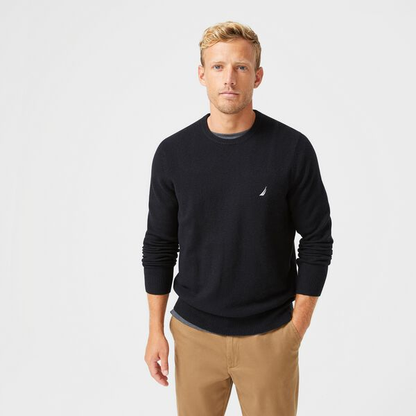 SUSTAINABLY CRAFTED J-CLASS SWEATER - True Black