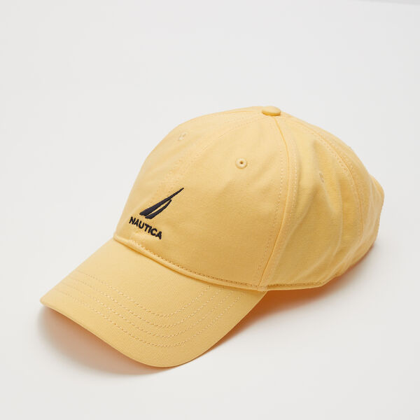 J-CLASS EMBROIDERED CAP - Yacht Yellow