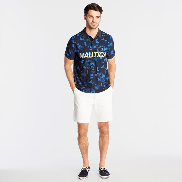 Classic Fit Logo Polo - Navy